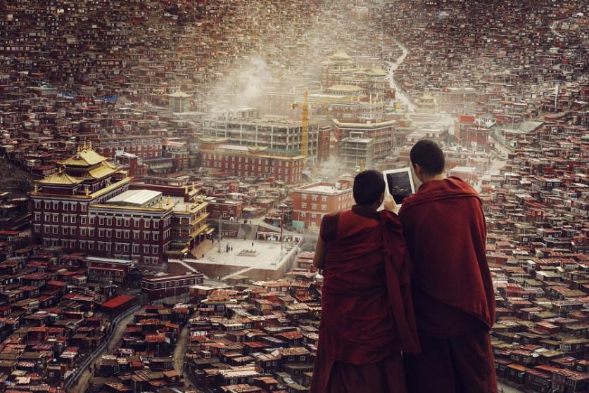 Буддийский институт. Автор фото: Линлин Ли