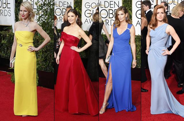 «Золотой глобус»: лучшие платья церемонии (26 фото)