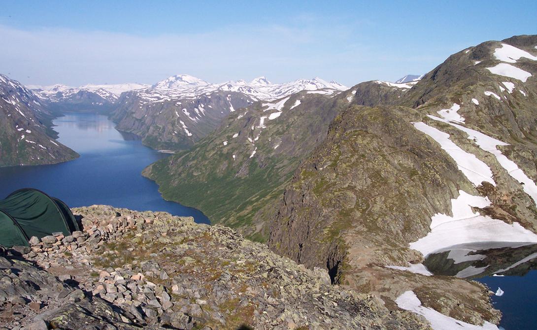 Норвежский Йотунхеймен известен и под другим именем — туристы и местные предпочитают называть его «З
