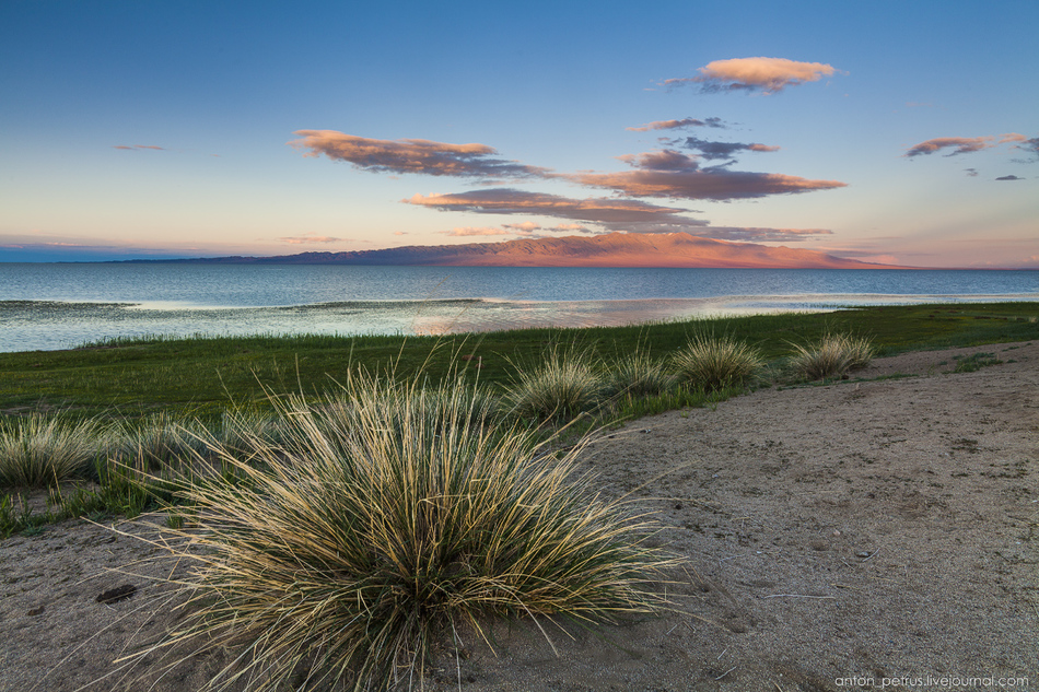 За озерами — пески Монгол-Элс. Самое любимое место на маршруте. Красивейшие пески, куча форм, ритмов
