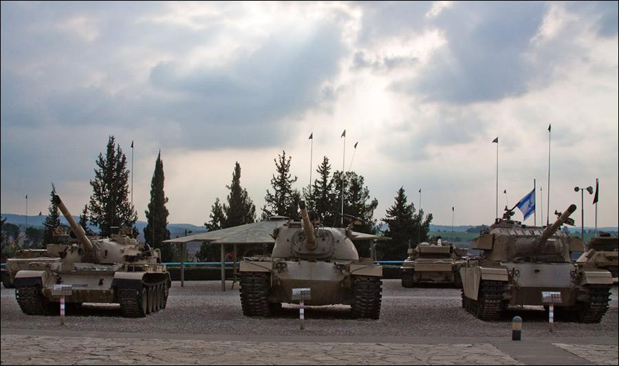 Музей танковых войск в Израиле (36 фото)