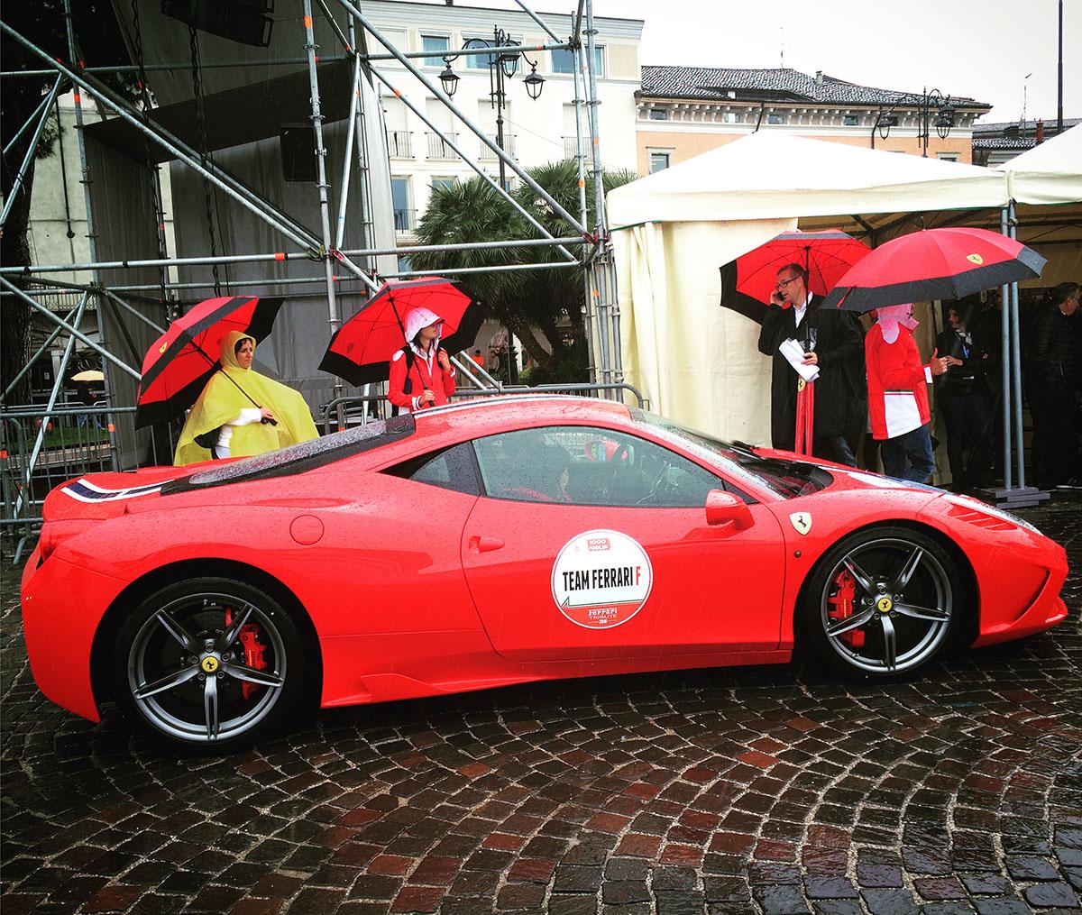 2. Этап стартовал в городке Дезенцано-дель-Гарда и финишировал в Сирмионе.