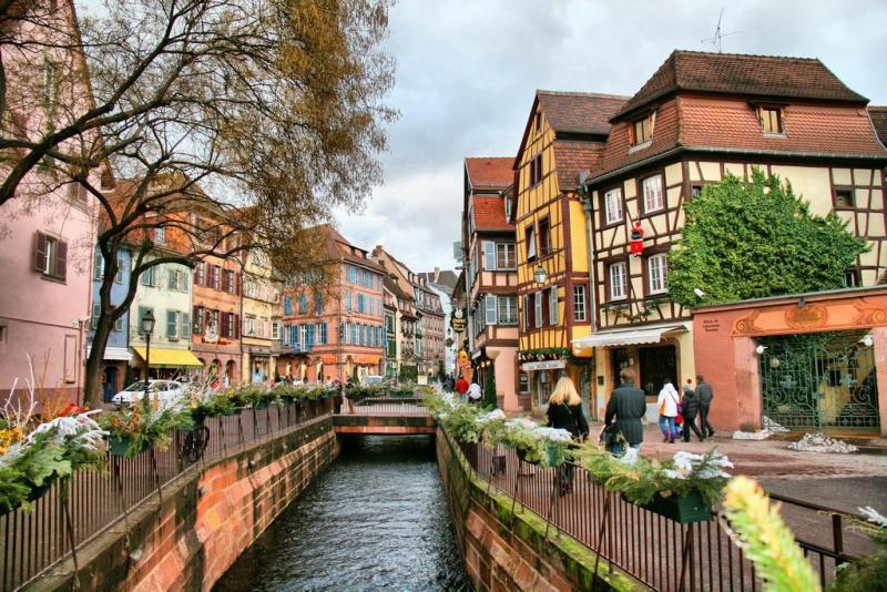 Самые красивые деревни и маленькие города Европы: Кольмар, Франция