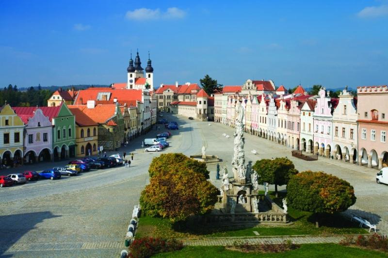 Самые красивые деревни и маленькие города Европы: Тельч, Чехия