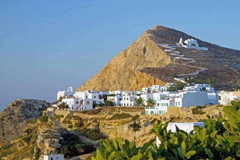 Самые красивые деревни и маленькие города Европы: Фолегандрос, Греция