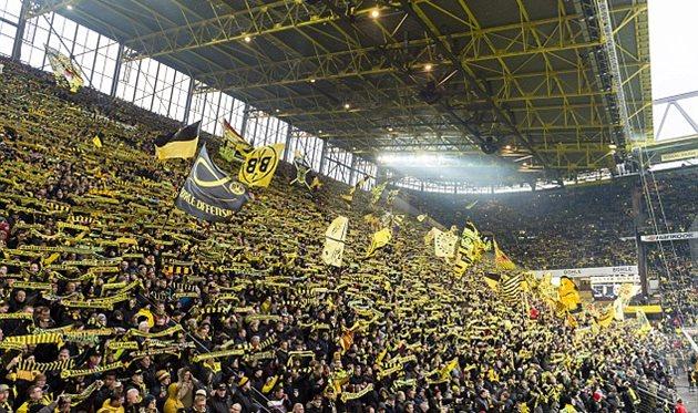 Часть болельщиков дортмундской «Боруссии» бойкотирует матч с«РБЛейпциг»
