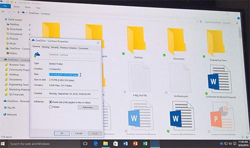 Метки OneDrive возвратятся вWindows 10