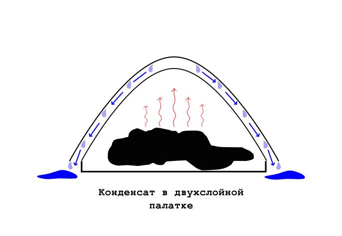 конденсат в палатке