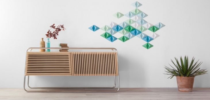 Designed by Fabrizio Simonetti for Formabilio , the Marcel is a smart sideboard made of wood and tub