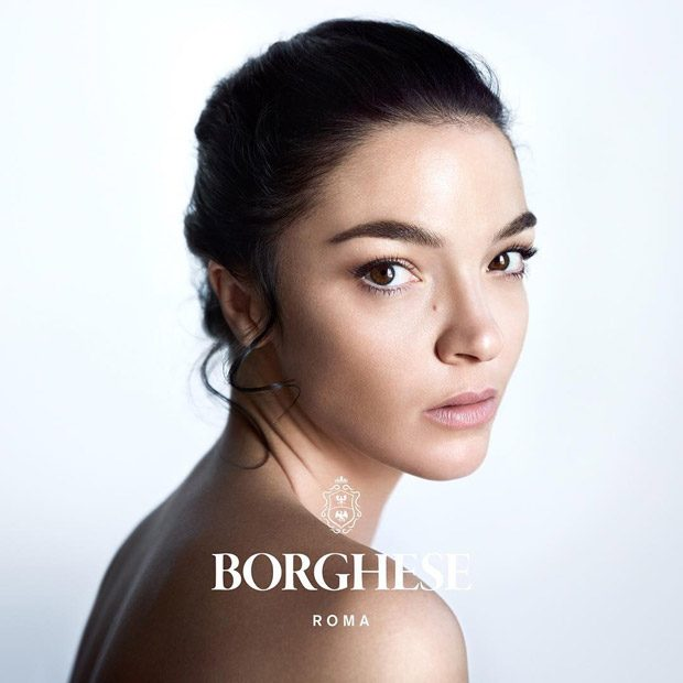 Supermodel Mariacarla Boscono is the Face of Borghese Beauty (5 pics)