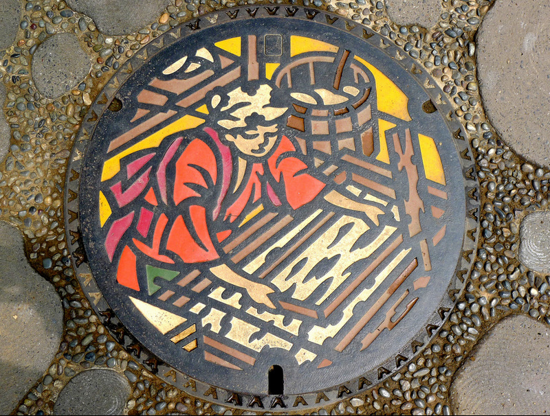 The Beauty of Japan's Artistic Manhole Covers