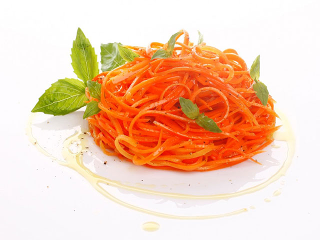 Корейская морковь салат