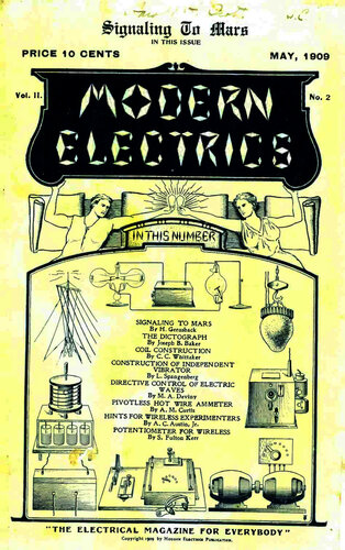 Modern Electrics: May 1909 - - Book Cover