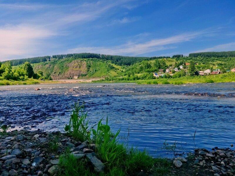 Слияние рек Тельбес и Мундыбаш в Кондому