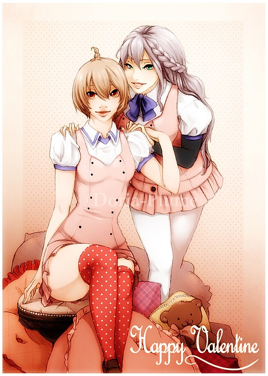 Manga Illustrations by Doria-Plume