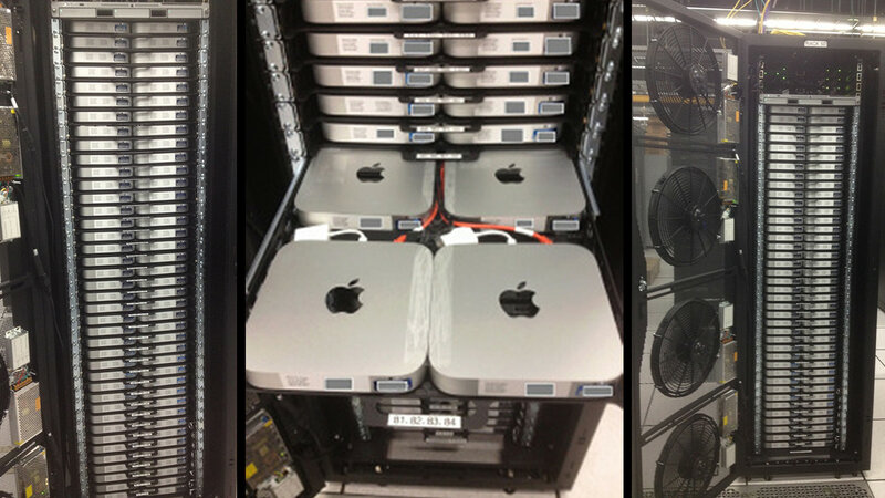 mac mini server rack