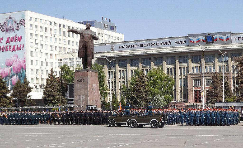 Парад Победы. 8 мая 2016 года. Саратов