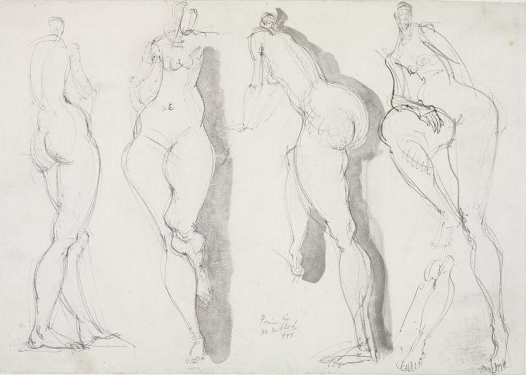 1944. Четыре обнаженные женщины