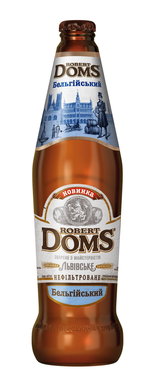 «Robert Doms Бельгійський» — новый сорт в линейке пива Robert Doms
