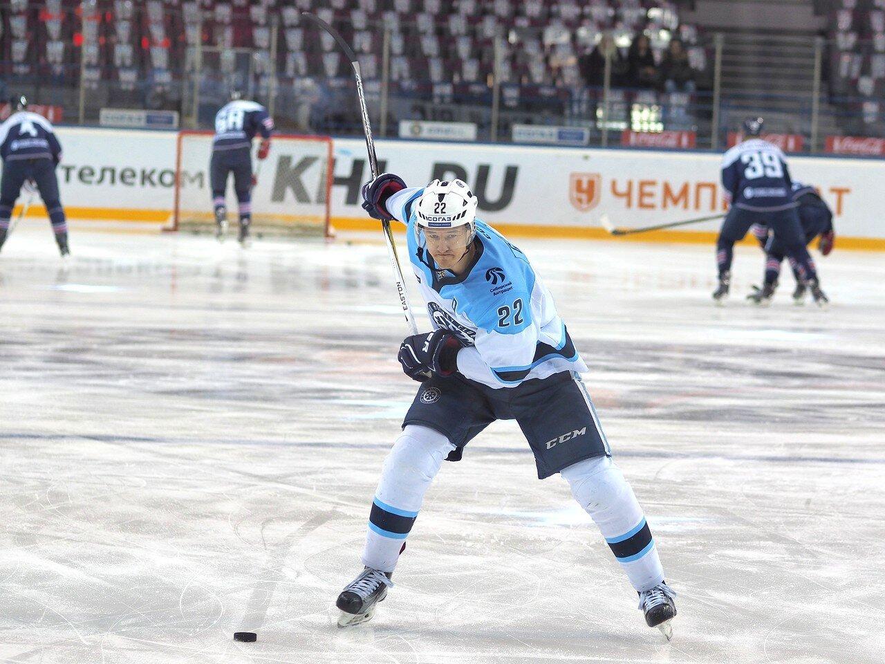 13Восток 1/2 плей-офф Металлург - Сибирь 08.03.2016