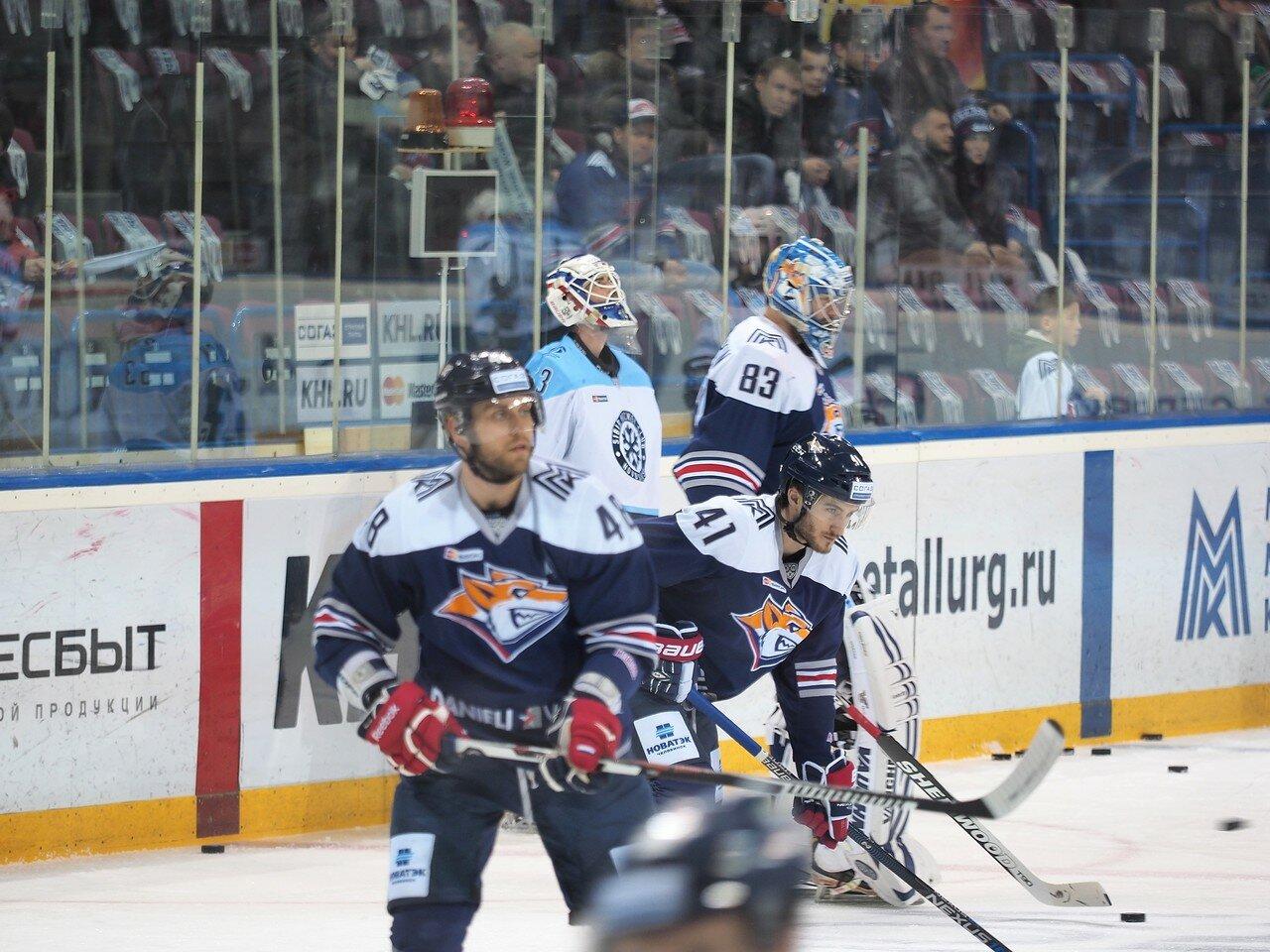 39Восток 1/2 плей-офф Металлург - Сибирь 08.03.2016