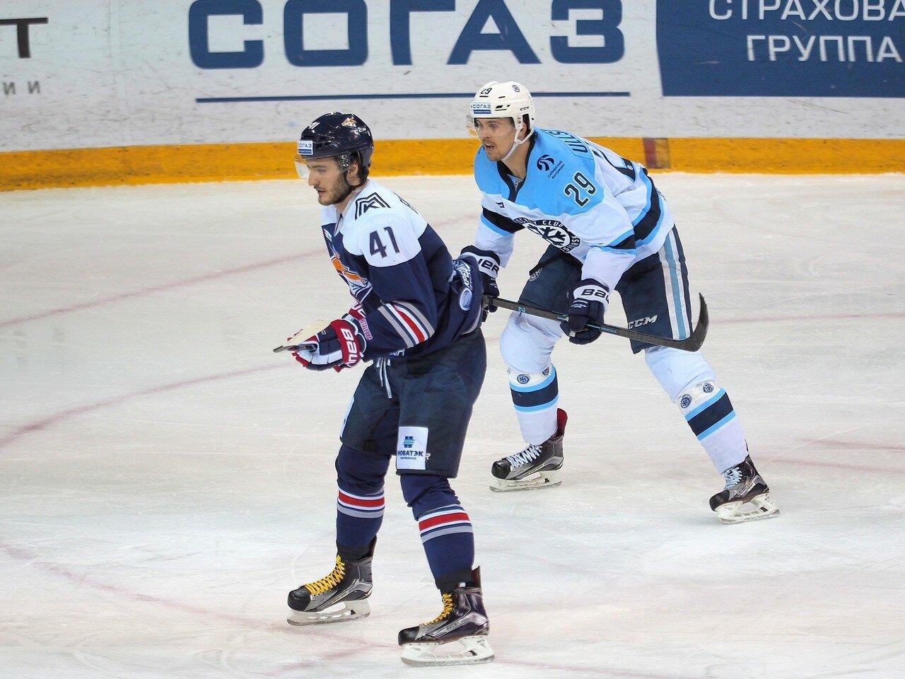 96Восток 1/2 плей-офф Металлург - Сибирь 08.03.2016