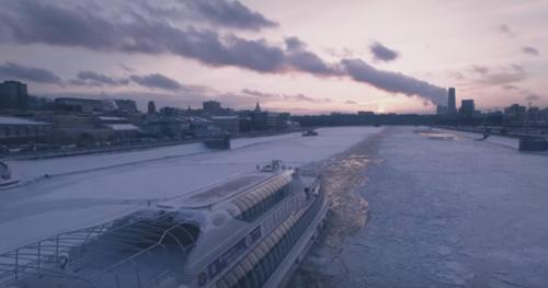 Уникальные виды Москвы с высоты птичьего полёта