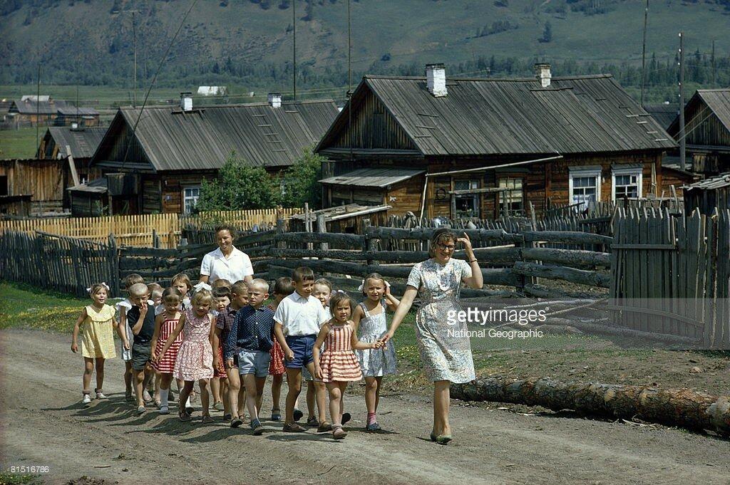 1967 Maloye Goloustnoye, Siberia, Dean Conger.jpg