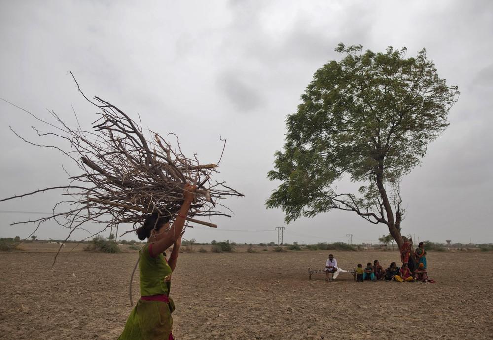 Жизнь в индийских деревнях
