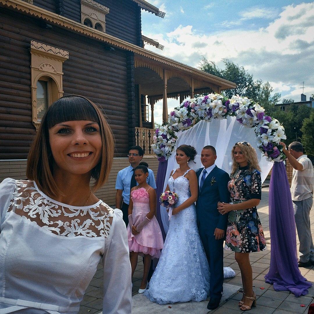 Мария Фоменко - ведущая выездных регистраций брака в Оренбурге