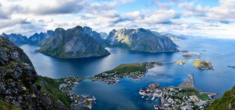 Норвегия в фотографиях