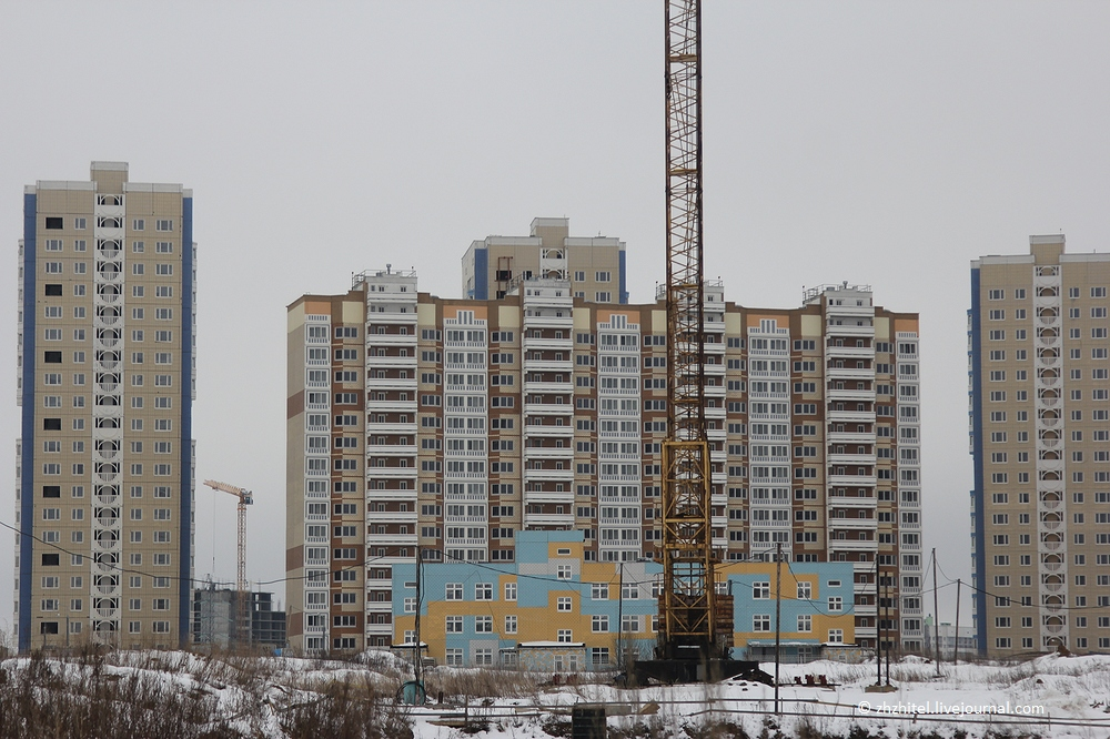 Подмосковная Припять. Южное Домодедово