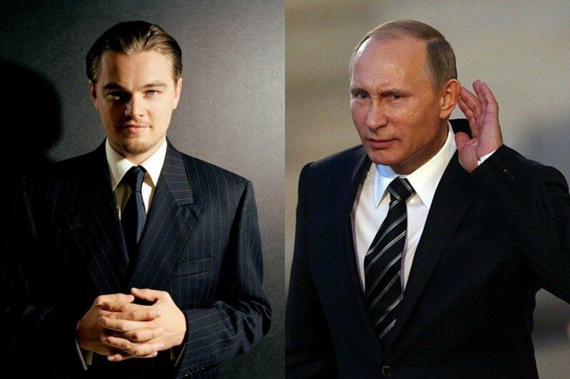 Леонардо Ди Каприо согласился сыграть Владимира Путина
