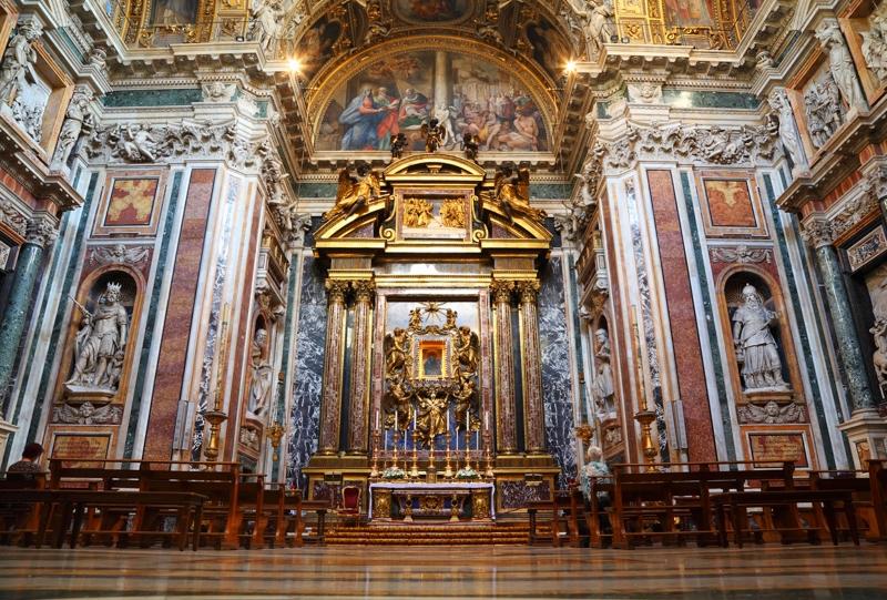 Самые красивые церкви Рима. Базилика Санта-Мария-Маджоре