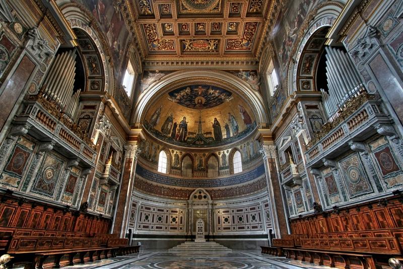 Самые красивые церкви Рима. Сан-Джованни-ин-Латерано