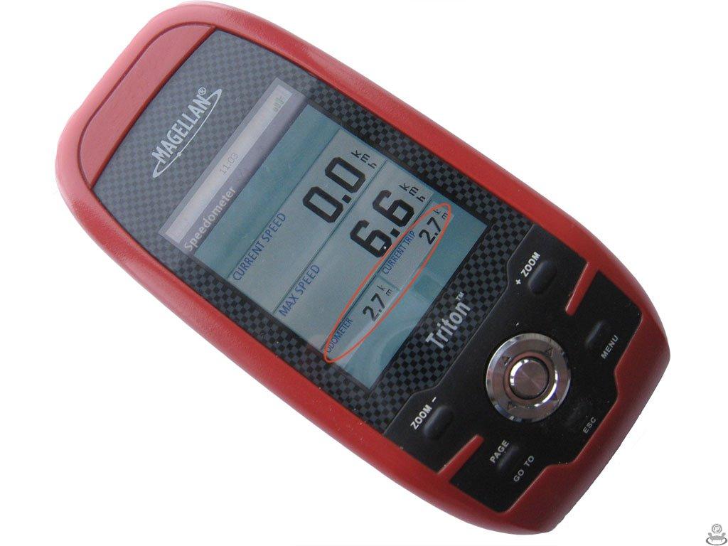 Экран Speedometer