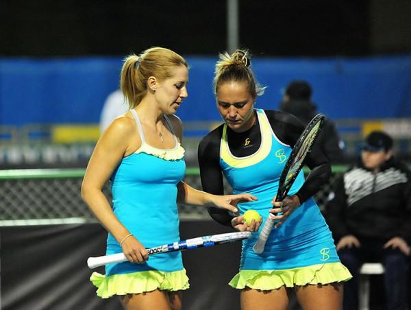 Украинские теннисистки пробилась вплей-офф Второй Мировой группы