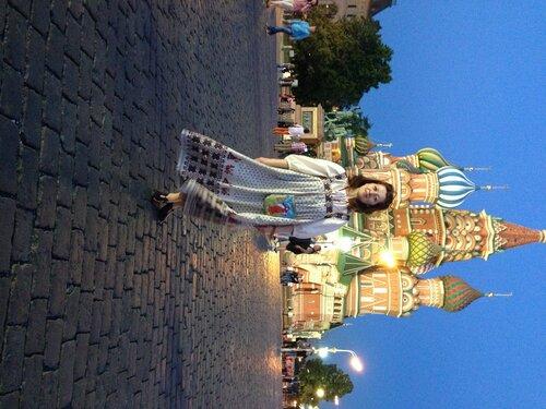 Москва.Красная площадь. Лена Воронова