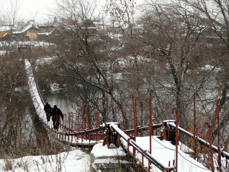 Мост в Казанцево