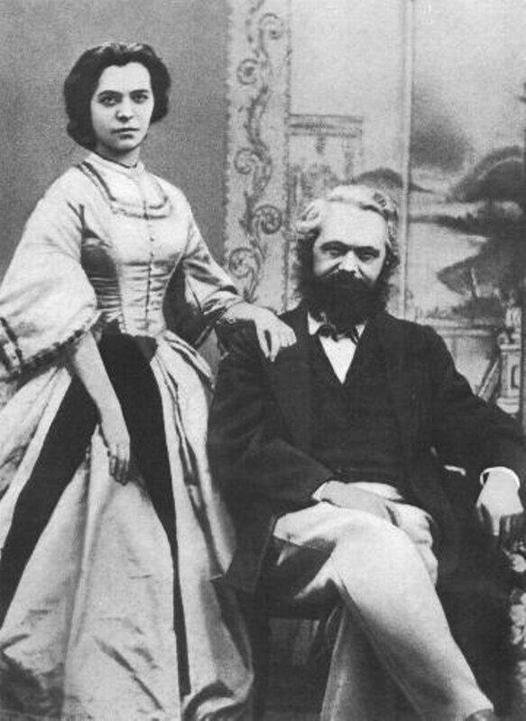 Карл Маркс (1818-1883) . Marx-jenny-1866.jpg