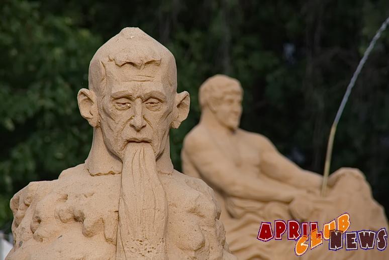 Фестиваль песчаных скульптур «Знаменитые фонтаны мира» на ВВЦ