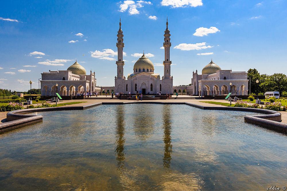 Болгар, музей-заповедник Булгар, Белая мечеть