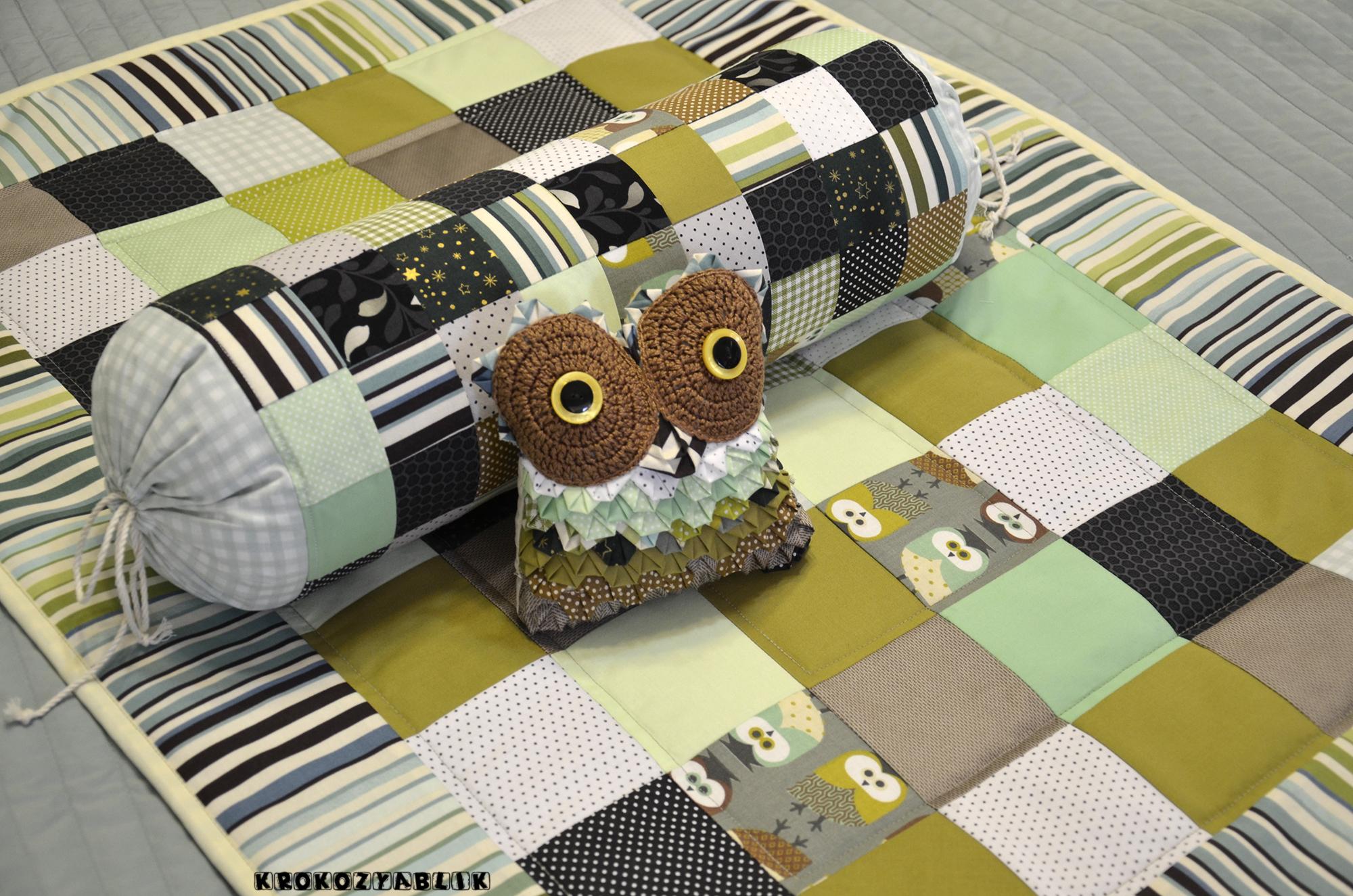 покрывало подушка-валик сова (8).JPG