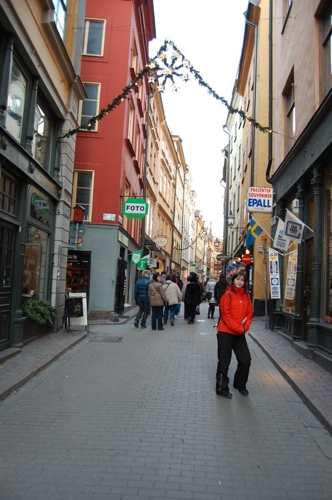 бродим по улицам Стокгольма