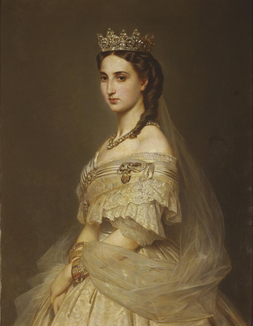 Альберт Graefle (1807-89)Принцесса Шарлотта Бельгии, императрица Мексики (1840-1927)  До марта 1868