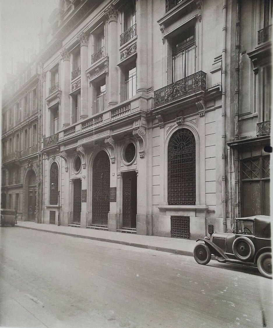 1930-е. «Crédit Industriel et Commercial (CIC)», Рю-дю-Бак