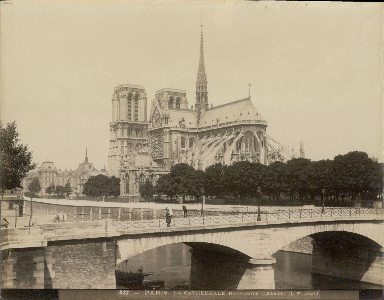1880-е.Собор Парижской Богоматери