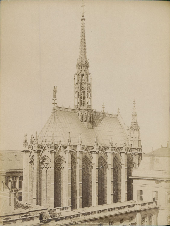 1880-е. Часовня Сент-Шапель