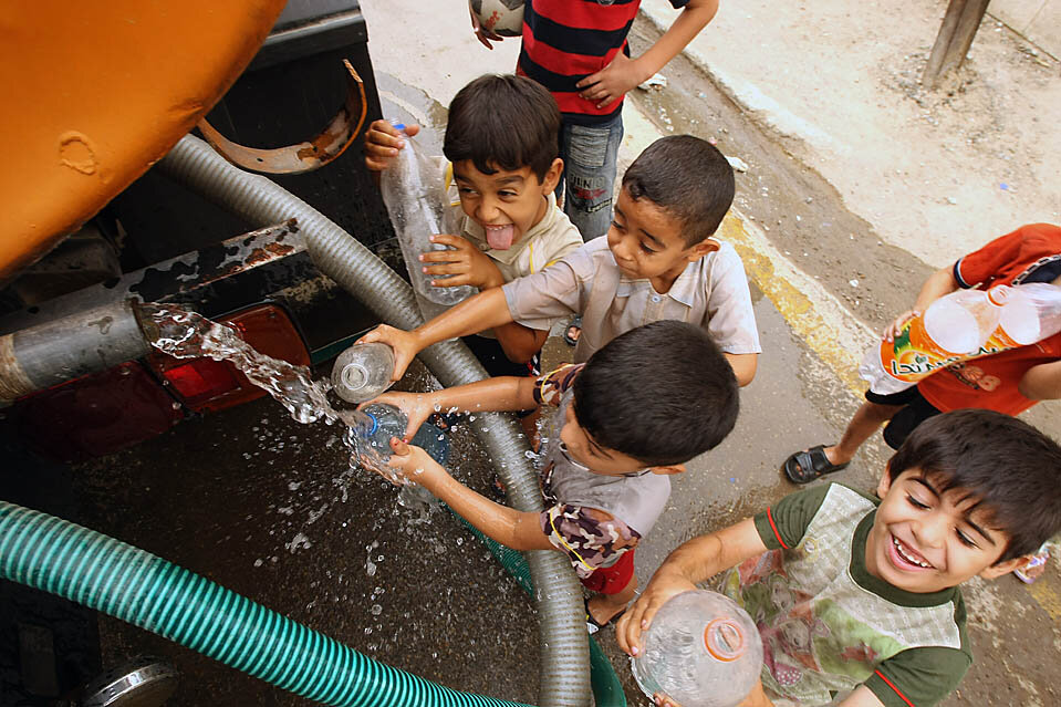IRAQ-WATER-HEALTH