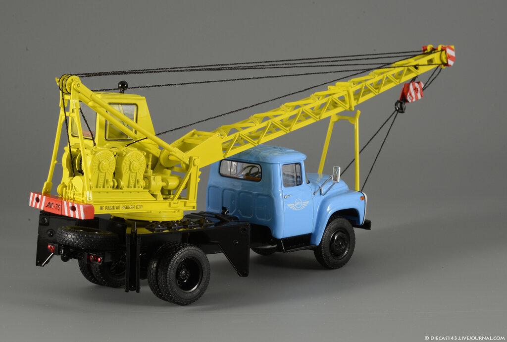 Автокран: АК-75В на шасси ЗиЛ-130 (SSM)